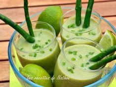 Gaspacho aux asperges et citron vert