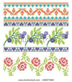Cruz-puntada Fotos en stock, Cruz-puntada Fotografía en stock, Cruz-puntada Imágenes de stock : Shutterstock.com