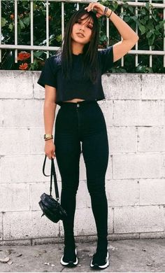 Best Jeans For Women Boyfriend Cut Jeans – thedearlover Basic Outfits, Mode Outfits, Girly Outfits, Summer Outfits, Casual Outfits, Fashion Outfits, Fashion Clothes, Casual Ootd, Dress Fashion