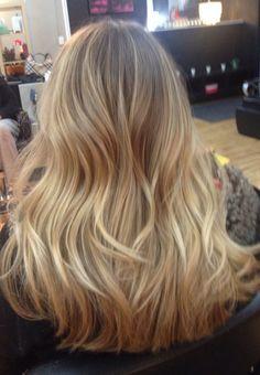 balayage blonde beach hair - Google Search
