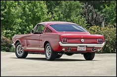 1966 Ford Mustang GT Fastback K-Code 289/271 HP, 4-Speed