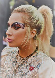 Lady Gaga at Tommy Hilfiger Fashion Show (2017)