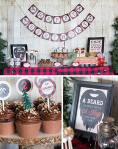 Lumberjack Birthday Party Collection - DIY