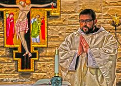 Fr. Leonard Seeking God, Our Life, Pray, Faith, Pure Products, Painting, Painting Art, Paintings, Loyalty