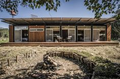 Casa prefabricada sustentable