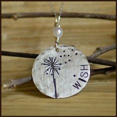 Hand Stamped Jewelry, Aww I will have to get for my daughters and myself, that was something we did together.