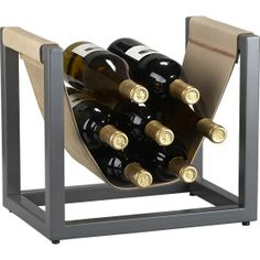 Stockton Wine Rack in Food Containers, Storage | Crate and Barrel