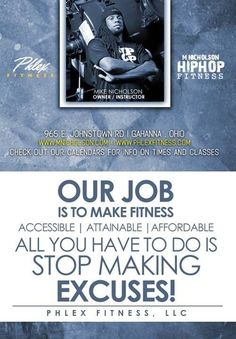 Our Job Often times when you ask someone why is it that they don't get into shape. Stop Making Excuses, Get In Shape, Sayings, Fitness, Getting Fit, Lyrics, Quotations, Idioms