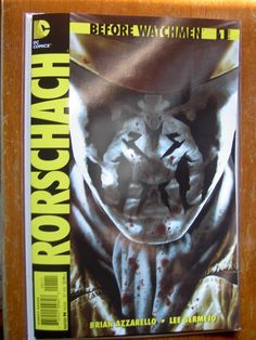 Cover to Rorschach issue 1.