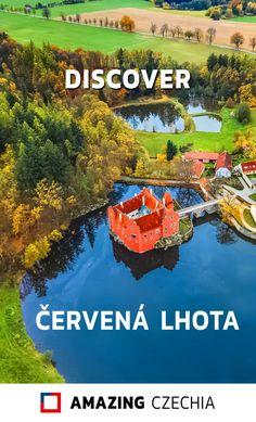 Červená Lhota is a beautiful Renaissance chateau in the small village of the same name in South Bohemia, Czechia. Europe Travel Tips, Travel Destinations, European Destination, Prague, Czech Republic, Renaissance, Places To Visit, Palaces, Castles