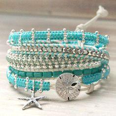 Multi strands bracelet. Craft ideas from LC.Pandahall.com