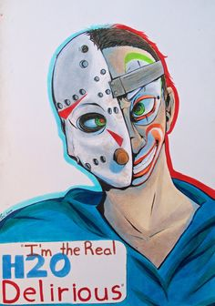 I'm the real H20 Delirious! by Noah-Jay on DeviantArt