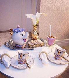 Beauty And The Beast Tea Set Teapot