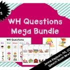 The WH Questions Mega Bundle is designed for SLPs working with children ages 3 and up. The packet includes the following activities:   1. WH Questi...