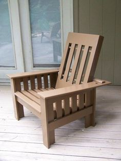 These Adirondack chair plans will help you build an outdoor furniture set that becomes the centerpiece of your backyard . It's a good thing that so many plastic patio chairs are designed to stack, and the aluminum ones fold up flat. Teak Outdoor Furniture, Deck Furniture, Pallet Furniture, Furniture Plans, Rustic Furniture, Scandinavian Furniture, Furniture Layout, Furniture Stores, Antique Furniture