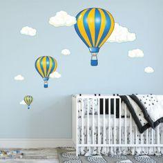 Nálepky na stenu - hviezdičky a oblaky | INSPIO Bebe