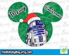 Christmas Mickey Head - Disney Vacation Shirt Design or Clipart Disney Vacation Shirts, Disney Vacations, Mickey Head, Disney Star Wars, Disney Christmas, I Shop, Shirt Designs, Clip Art, Messages