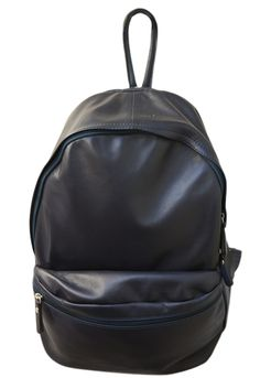 Burrows and Hare Italian Soft Calf Skin Leather Navy Michael Backpack: Burrows and Hare - Italian Soft Calf Skin Leather Navy Michael Backpack  Our Italian leather Michael Backpack has been made by skilled craftsmenin the heart of Italy, Lined inner and adjustable straps with a front pouch pocket. A Burrows & Hare Exclusive product.
