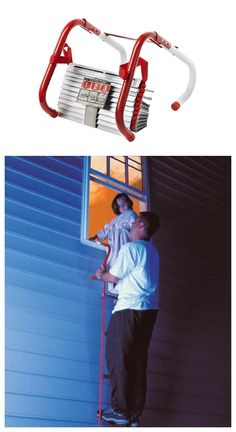 This escape ladder is a great idea and a must have for fire preparedness for your kids!