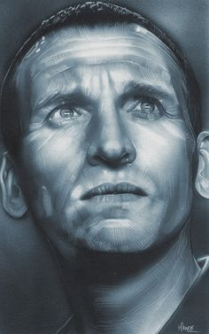 Doctor Who Ninth Doctor Art Print
