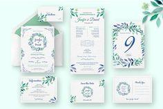 Wedding Invitation Suite @creativework247