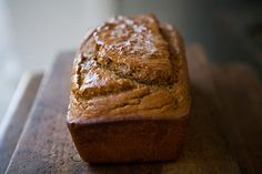 Guinness Bread with Molasses ~ All of the rich malty goodness of Irish Guinness in a quick bread with molasses! ~ SimplyRecipes.com
