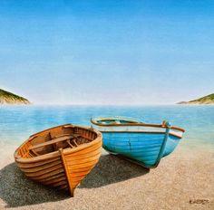 imagenes de pinturas al oleo marinas - Marinas Óleos Imágenes Arte Temático