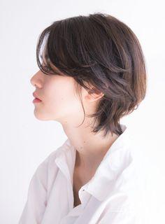 大人ヘルシーなナチュラルショートボブ(髪型ショートヘア)