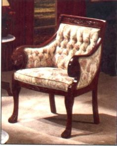 I Like This Old Style Chair Because The Pattern Works And Gives A Touch Of  An Antique Environment.