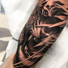 Arm tattoos tiger, tiger tattoo sleeve, big cat tattoo, tattoo sleeve d Arm Tattoos Tiger, Hand Tattoos, Tiger Tattoo Sleeve, Big Cat Tattoo, Lion Tattoo Sleeves, Tattoo Sleeve Designs, Animal Tattoos, Tattoo Designs Men, Black Tattoos