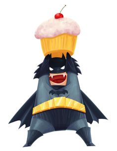 Everybody knows the only reason batman is sad is because he cant eat cupcakes so he uses his parents death as a better excuse