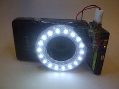 DIY light ring for macro