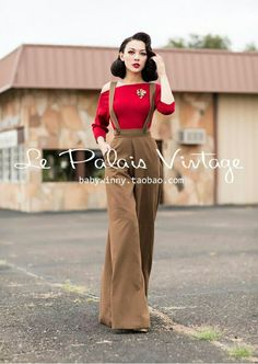 55 Best Ideas For Dream Closet Clothes Outfit Ideas Color Combos Looks Rockabilly, Rockabilly Fashion, 1940s Fashion, Look Fashion, Vintage Fashion, Vintage Inspired Fashion, Vintage Inspired Dresses, Latest Fashion, Look Retro