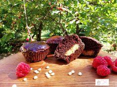 Csokis-mogyoróvajas muffin Mogyoróvajas Muffin, Caramel Apples, Desserts, Food, Diet, Tailgate Desserts, Deserts, Essen, Postres