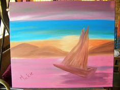This painting is done during a Beginner Level lesson that lasts 2 hours. Painting Lessons, Creative, Design, Art, Art Background, Kunst, Performing Arts, Art Education Resources