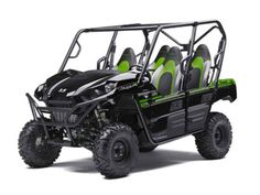 New 2017 Kawasaki Teryx4 ATVs For Sale in Texas. 2017 Kawasaki Teryx4, 2017 Kawasaki TERYX4 THE KAWASAKI DIFFERENCE THE SPORTY TERYX4 IS THE PERFECT BALANCE OF THRILLING POWER, A SMOOTH RIDE AND INCREDIBLE VERSATILITY MAKING IT MORE THAN READY FOR THE MOST DEMANDING ADVENTURES. 783cc V-twin engine with strong mid-range power delivery Continuously Variable Transmission (CVT) with confidence-inspiring automatic engine braking performance Durable and light weight Double-X frame construction…
