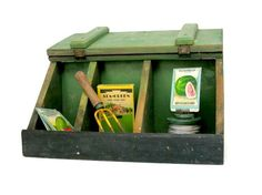 Vintage Display Box Divided Storage Organization by veraviola, $85.00