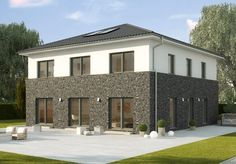 Stadthaus - La Finca - Fertighaus mit kompaktem XXL-Grundriss - GUSSEK HAUS