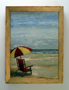 Verlaten strand
