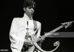 Prince performs on stage at Brabant hallen Den Bosch Netherlands 24th March 1995