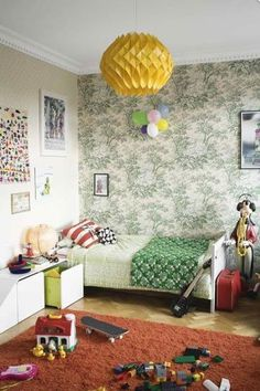 Swedish Home Inspired by Pippi Longstocking — Sköna Hem 12.28.08 | Apartment Therapy