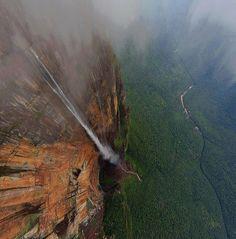 Salto del Angel – Wodospad anioła w Wenezueli
