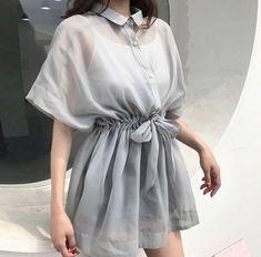 Korean Girl Fashion, Korean Fashion Trends, Ulzzang Fashion, Asian Fashion, Korea Fashion, Hijab Fashion, Teen Fashion Outfits, Cute Fashion, Fashion Dresses
