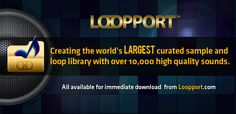 Loopport: The Sound Supplier | Loops, Samples, Oneshots, Fx, Presets, DJ Tools, and More