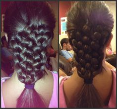 11 strand braid! just did this on my mom! can i say easy!!!
