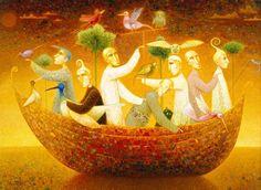 Arunas Zilys 1953 |  Lituania pintor surrealista Mythic