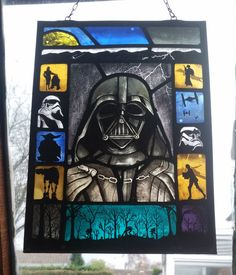 Star Wars Stained Glass. by StokeStainedGlass on Etsy