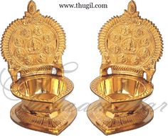 Brass Ashtalakshmi Lamp Diya Vilakku  http://www.thugil.com/ashtalakshmi-lamp-614.html