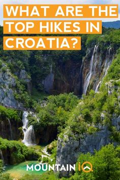 Hiking In Croatia – Expert Guide To The Top 7 Trails - Nothing is too far away in With five national parks and two UNESCO World Heritage Sites a - Mljet Croatia, Cool Places To Visit, Places To Go, Hiking Europe, Travel Europe, Waterfall Hikes, Colorado Hiking, Croatia Travel, Best Hikes