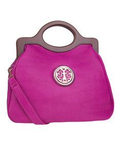 Another great find on #zulily! Purple Charles Crossbody Bag by MKF Collection #zulilyfinds